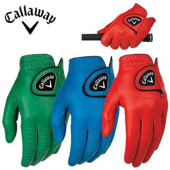 【グローブ】キャロウェイ CALLAWAY Opticolor Gloves オプティカラーグローブ 左手用 USA直輸入品【日本未発売モデル】