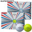 【ゴルフ】【ボール】キャロウェイ CALLAWAY '17 SUPERSOFT (スーパーソフト) ボール 1ダース 日本正規品