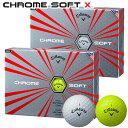 【ゴルフ】【ボール】キャロウェイ CALLAWAY '17 CHROME SOFT X (クロムソフト エックス) ボール 1ダース 日本正規品