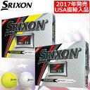 【USA直輸入モデル】【ゴルフ】【ボール】スリクソン SRIXON 2017 Z-STAR XV5 ボール 1ダース (USA直輸入品)