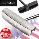 【送料無料】【ゴルフ】【パター】シーモア SeeMore Original FGP Black Blade パター [ブレードタイプ](USA直輸入品)