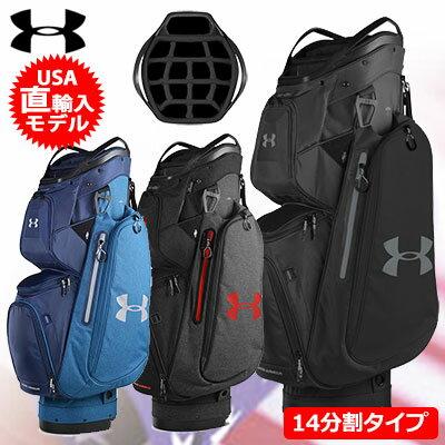 【ゴルフ】【キャディーバッグ】アンダーアーマー UNDER ARMOUR メンズ UA Storm Armada Cart Bag 1317087 USA直輸入品