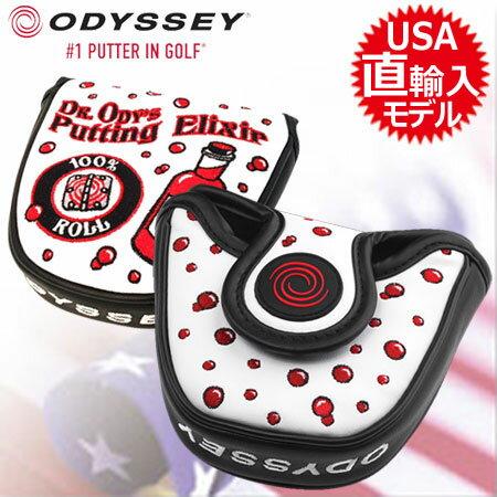 【数量限定】【ゴルフ】【ヘッドカバー】オデッセイ ODYSSEY Dr.ODYSSEY Limited パターカバー マレット型 [5518080](USA直輸入品)