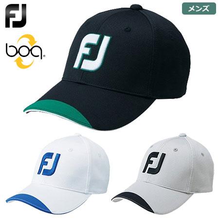【ゴルフ】【キャップ 帽子】フットジョイ FOOTJOY メンズ FJ ボアキャップ FJHW1803 2018春夏