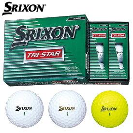 【ゴルフ】【ボール】ダンロップ スリクソン SRIXON 2017 TRI-STAR2 ボール [1ダース:12個] 日本正規品