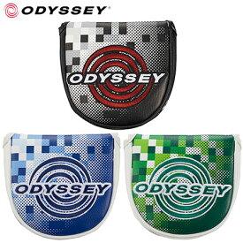 【ゴルフ】【パターカバー】オデッセイ ODYSSEY Graphic Neo Mallet Putter Cover 18 JM マレットタイプ 日本正規品 5518120 5518121 5518122