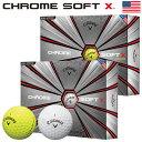 【USA直輸入パッケージ】【ゴルフ】【ボール】キャロウェイ Callaway 2018 CHROME SOFT X (クロムソフト エックス)ボ…