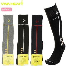 【ゴルフ】【靴下】ビバハート VIVA HEART レディース ハイソックス 013-46862