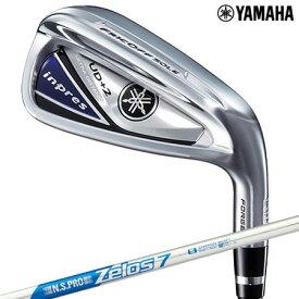 【ゴルフ】【アイアン】ヤマハ YAMAHA 19 inpres (インプレス) UD+2 アイアン セット 4本(7I-PW) [N.S.PRO ZELOS 7 スチール装着] 日本正規品