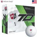 【ゴルフ】【ボール】ウイルソンスタッフ Wilson Staff TRUE DISTANCE SOFT (トゥルー ディスタンス ソフト) ボール 1ダース (USA直輸入品) MEGASALE