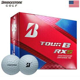 【ゴルフ】【ボール】ブリヂストンゴルフ BRIDGESTONE GOLF 2017 TOUR B RXS ボール 1ダース [飛距離+ソフトフィール](USA直輸入品)【ウレタンカバー/3ピース】MEGASALE