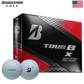 【ゴルフ】【ボール】ブリヂストンゴルフ BRIDGESTONE GOLF 2017 TOUR B X ボール 1ダース [フィーリング+正確性](USA直輸入品)