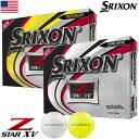 スリクソン 2019 Z-STAR XV ゴルフボール 1ダース USA直輸入品 ウレタンカバー 4ピース MEGASALE