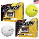 【USA直輸入モデル】【ゴルフ】【ボール】スリクソン SRIXON 2017 Z-STAR5 ボール 1ダース (USA直輸入品)