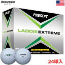 【日本未発売】【ゴルフ】【ボール】ブリヂストンゴルフ BRIDGESTONE GOLF プリセプト PRECEPT 2017 LADDIE EXTREME (ラディ エクストリーム) ボール 24球入(2ダース分)(USA直輸入品)
