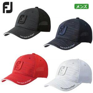 フットジョイ 2019 FJ Men's トラッカーメッシュキャップ FJHW1903 メンズ キャップ 日本正規品