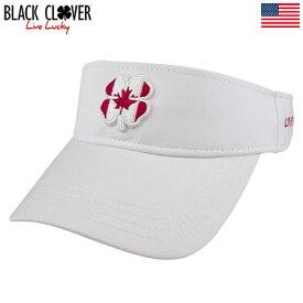 ブラッククローバー Black Clover CANADA LUCK VISOR 1V ゴルフ サンバイザー USA直輸入品