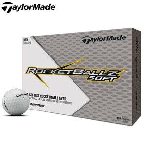 テーラーメイド 2019 ROCKEBALLZ SOFT アイオノマーカバー 2ピース ゴルフボール USA直輸入品 MEGASALE