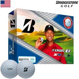 【数量限定】ブリヂストンゴルフ BRIDGESTONE GOLF TOUR B XS TIGER WOODS EDITION (タイガー・ウッズ エディション) ボール 1ダース(12個) USA直輸入品【ゴルフボール】 MEGASALE