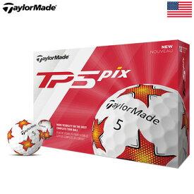 テーラーメイド 2019 TP5 Pix ゴルフボール USA直輸入品【5ピース】