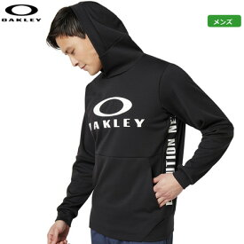 オークリー メンズ Enhance Grid Fleece Hoody 9.7 パーカー 461800JP-02E Blackout トップス 日本正規品 2019秋冬