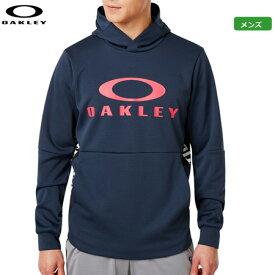 オークリー メンズ Enhance Grid Fleece Hoody 9.7 パーカー 461800JP-6FB Foggy Blue トップス 日本正規品 2019秋冬