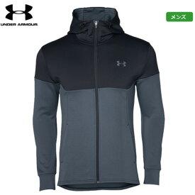 アンダーアーマー メンズ UA ニット トレーニング ジャケット 2019秋冬 1347234(001) ジャケット 日本正規品