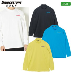 ブリヂストンゴルフ メンズ TOUR B 温度調整機能付き 長袖 モックシャツ 2019秋冬 QGM04F 日本正規品