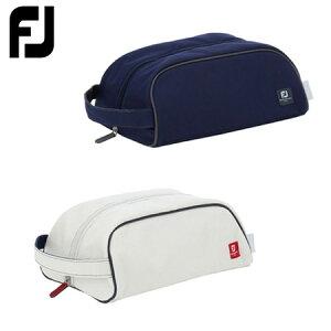 フットジョイ FJ ジョイフォーザシーズン シューズバッグ FA19SCSBJ ホワイト ネイビー 日本正規品