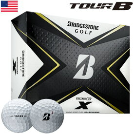 ブリヂストンゴルフ TOUR B X ゴルフボール 2020年モデル 1ダース USA直輸入品【BRIDGESTONE GOLF】【飛距離重視】【しっかり目】【2020TOURB】