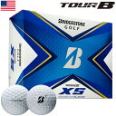 (タイガー使用)ブリヂストンゴルフ TOUR B XS ゴルフボール 2020年モデル 1ダース USA直輸入品【BRIDGESTONE GOLF】【スピン&コントロール】【2020TOURB】