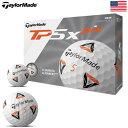 テーラーメイド TP5X PIX ボール 2020 USA直輸入品【リッキーファウラー監修】【5ピース】
