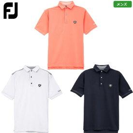 【土日祝も発送】フットジョイ ドットジャカードトリムシャツ メンズ 2020春夏 FJ-S20-S11 日本正規品