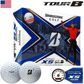 (特別デザイン)ブリヂストンゴルフ TOUR B XS ゴルフボール 2020 TIGER仕様モデル 1ダース USA直輸入品【BRIDGESTONE GOLF】【スピン&コントロール】