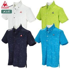 ルコックゴルフ コンピュータースプラッシュジャカード半袖シャツ QGMPJA17 メンズ le coq sportif GOLF 2020春夏