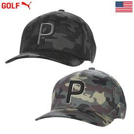 プーマ CAMO PATTERN SNAPBACK CAP メンズ ゴルフ キャップ 023065 PUMA USA直輸入品 2020年モデル