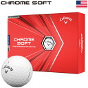 キャロウェイ クロムソフト 2020 ゴルフボール CHROME SOFT USA直輸入品【USAパッケージ】