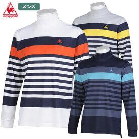ルコックゴルフ 先染めパネルBDシャツ QGMQJB03 メンズ le coq sportif GOLF 2020秋冬