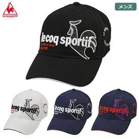 ルコックゴルフ コットンツイルキャップ QGBQJC00 メンズ le coq sportif GOLF 2020秋冬
