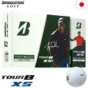 【TIGER】ブリヂストンゴルフ TOUR B XS タイガーウッズ 2020 マスターズ限定パッケージ Tiger Woods Masters Edition ゴルフボール 1ダース 日本正規品【B