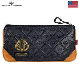 スコッティキャメロン LUXE SCP LEATHER Cash Bag 015725 ポーチ Scotty Cameron USA直輸入品