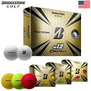 【土日祝も発送】ブリヂストンゴルフ e12 CONTACT 2021 ゴルフボール 1ダース 12球入 USA直輸入品【BRIDGESTONE GOLF…