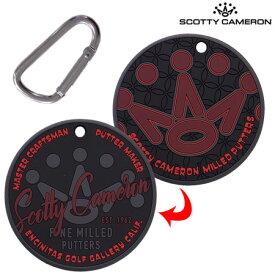【稀少】スコッティキャメロン Rubber Putting Disc 016358 パター練習用具 RED Scotty Cameron USA直輸入品【レアもの】