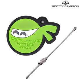 【稀少】スコッティキャメロン Rubber EddiMame Key キーホルダー LIME Scotty Cameron USA直輸入品【レアもの】