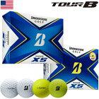 【イエロー追加】ブリヂストンゴルフ TOUR B XS ゴルフボール 2020年モデル 1ダース USA直輸入品【BRIDGESTONE GOLF】【スピン&コントロール】【2020TOURB】【21MASTERS】
