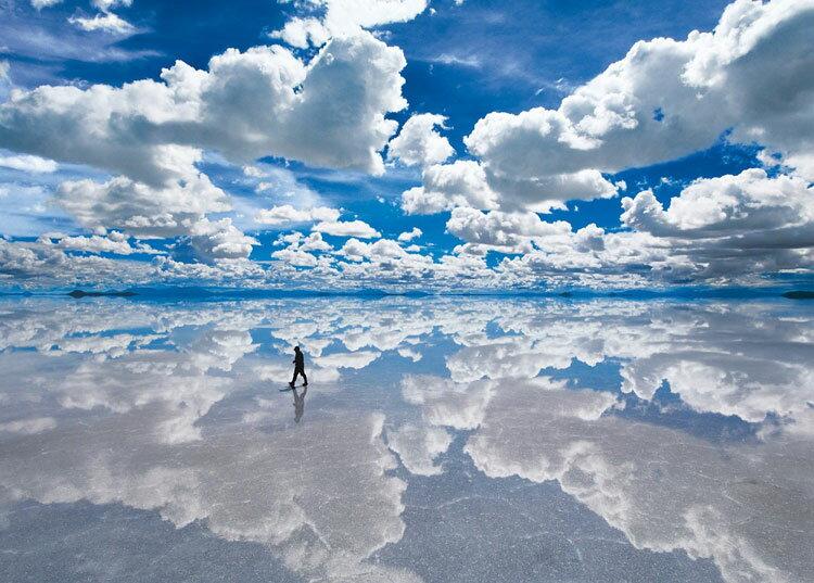 【あす楽】 EPO-54-011 風景 ウユニ塩湖−ボリビア 2000ピース