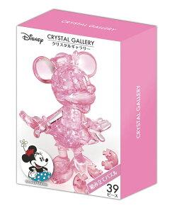 HAN-07602 ディズニー クリスタルギャラリー ミニーマウス 39ピース ギフト 誕生日 プレゼント 透明パズル 立体パズル