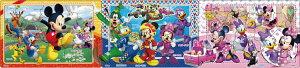 APO-24-134 ディズニー ミッキーマウスとなかまたち 10+15+20ピース パズル Puzzle 子供用 幼児 知育玩具 知育パズル 知育 ギフト 誕生日 プレゼント 誕生日プレゼント