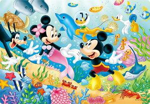 TEN-DC60-042 ディズニー おさかなとおよごう(シルエット)  60ピース パズル Puzzle 子供用 幼児 知育玩具 知育パズル 知育 ギフト 誕生日 プレゼント 誕生日プレゼント