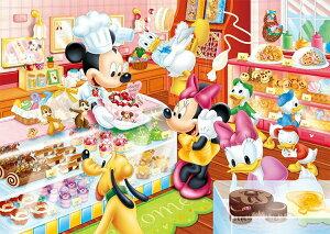 TEN-DC80-046 ディズニー ミッキーのケーキやさん 80ピース パズル Puzzle 子供用 幼児 知育玩具 知育パズル 知育 ギフト 誕生日 プレゼント 誕生日プレゼント